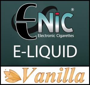 E-Nic 10ml E Liquid - Vanilla Flavour