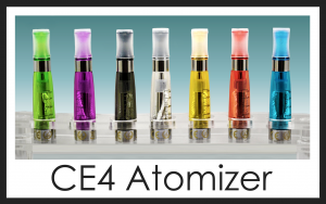 CE4 Atomizer / Clear Cartomizer For Ego & Evod